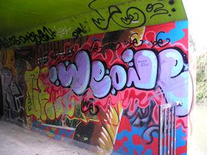 Graffiti, Foss-side, 24 October 2004 – image 2