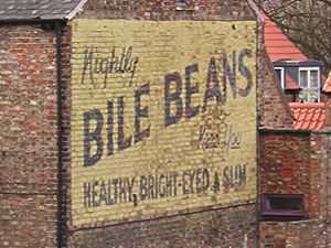 Bile Beans ad, Lord Mayor's Walk, York