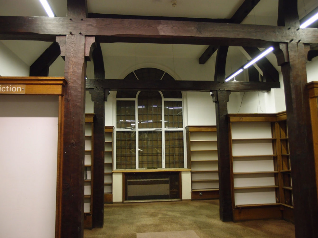 Interior view, Joseph Rowntree Memorial Library