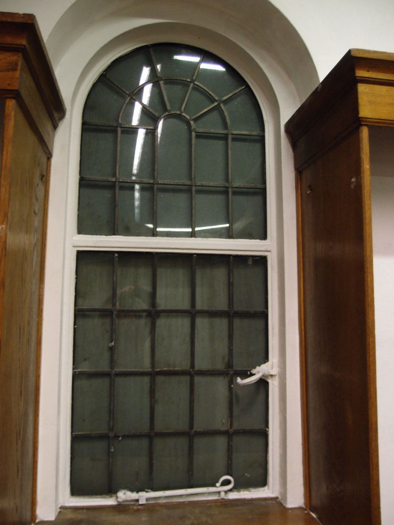 Interior view, window, Joseph Rowntree Memorial Library