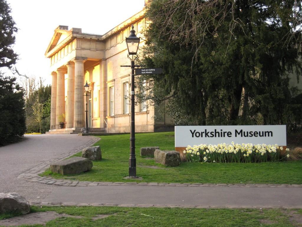 Yorkshire Museum, Museum Gardens, 7 April 2011