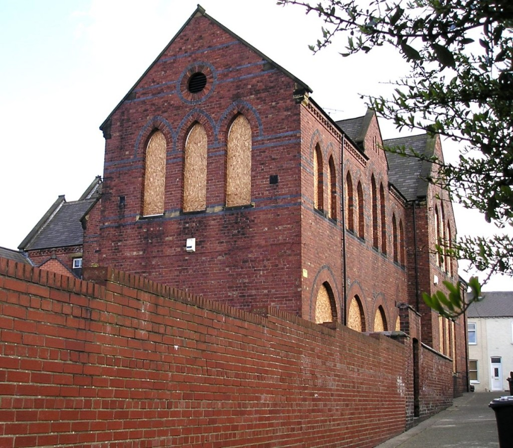 St Barnabas primary school (since demolished), 11 April 2006