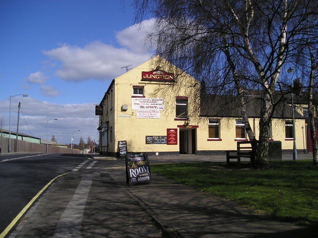 The Junction pub, Leeman Rd, 16 April 2006