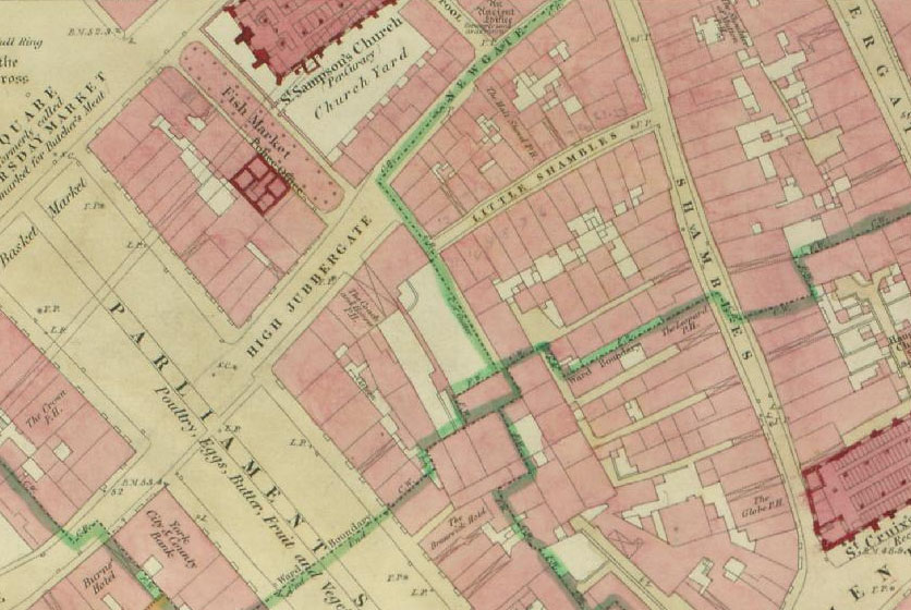 19th century town plan