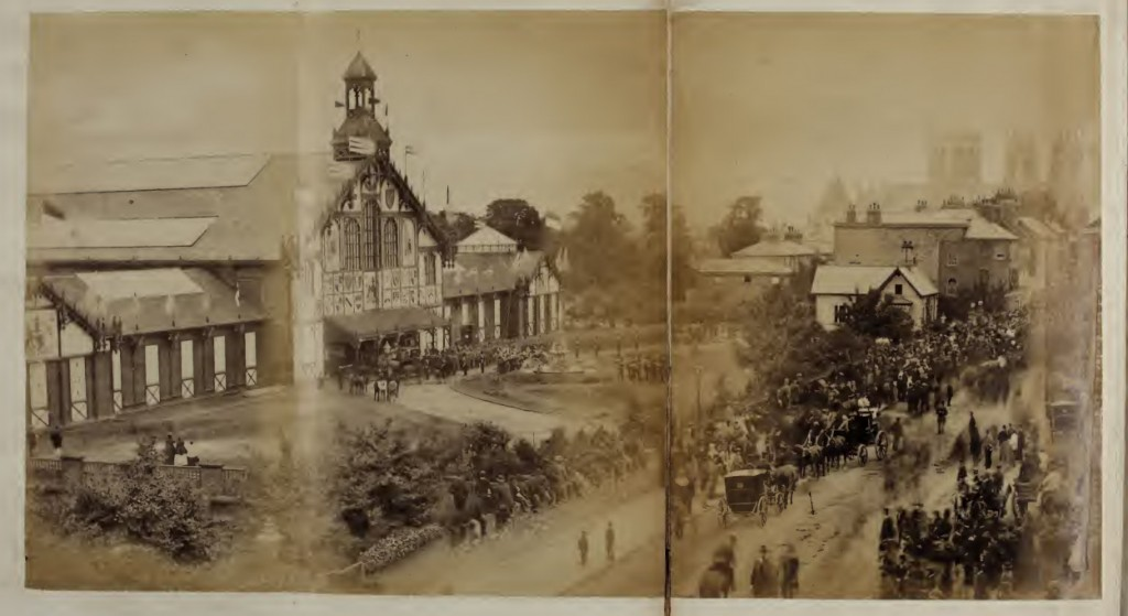 The 1866 exhibition on Bootham Field