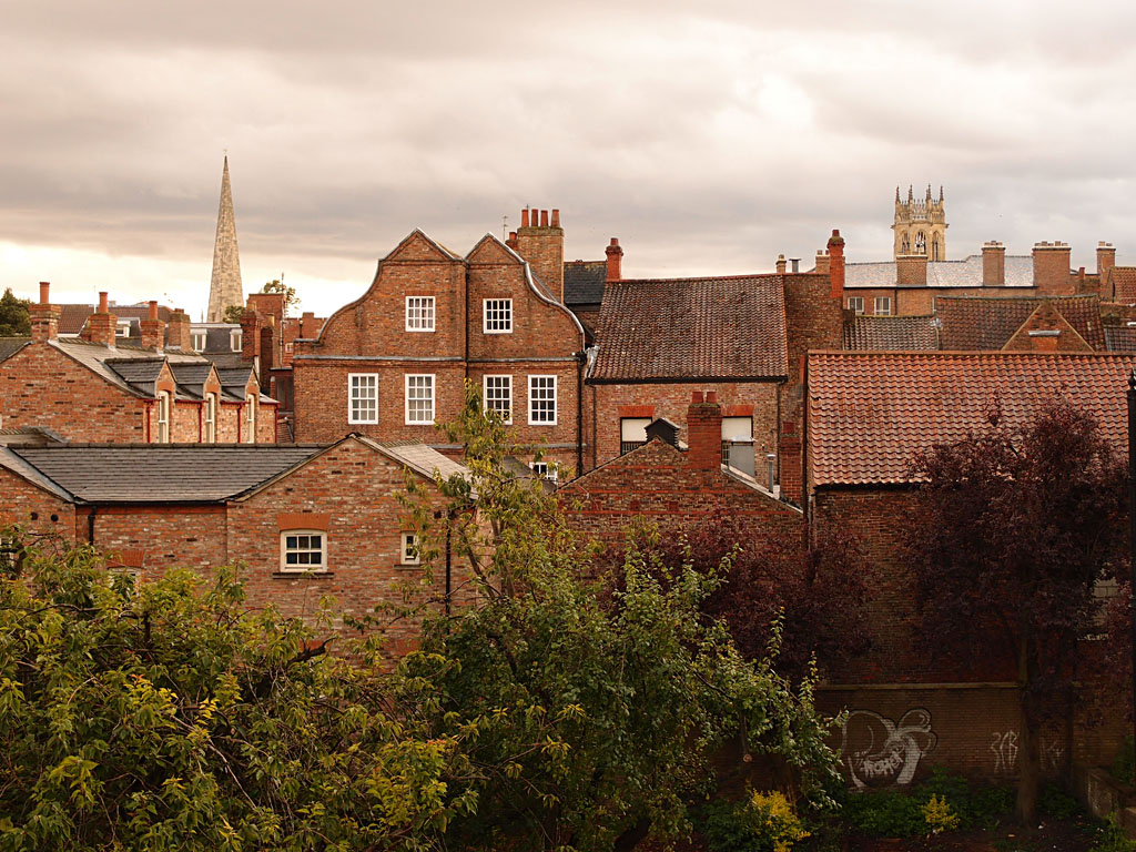 View, buildings