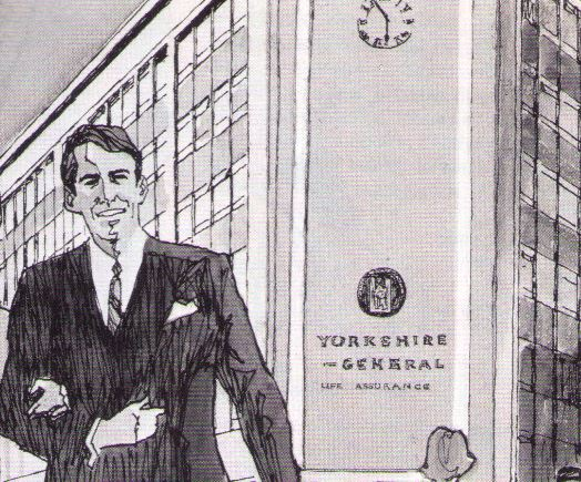 2 Rougier Street, in an early 1970s advert