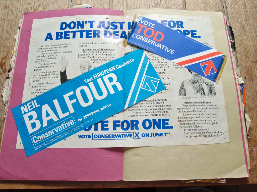 1970s scrapbook: Conservative Party election leaflets, 1979
