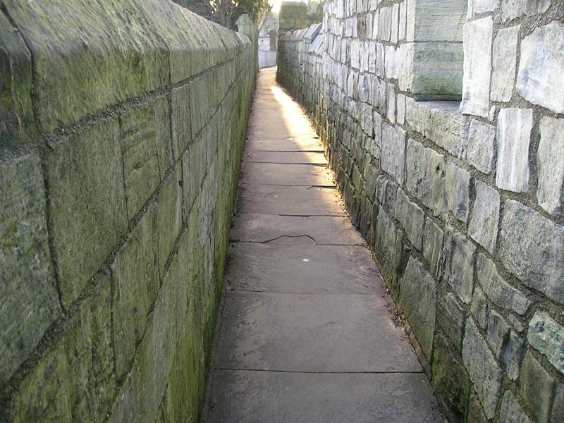 City Walls near Bootham Bar, 20 Jan 2014