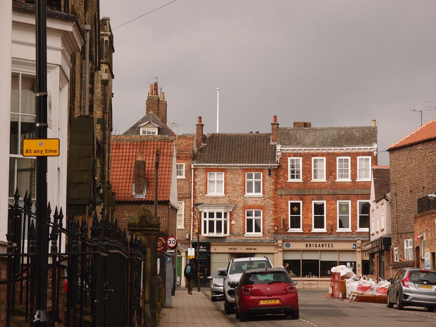 Priory Street, looking towards Micklegate, 13 March 2018