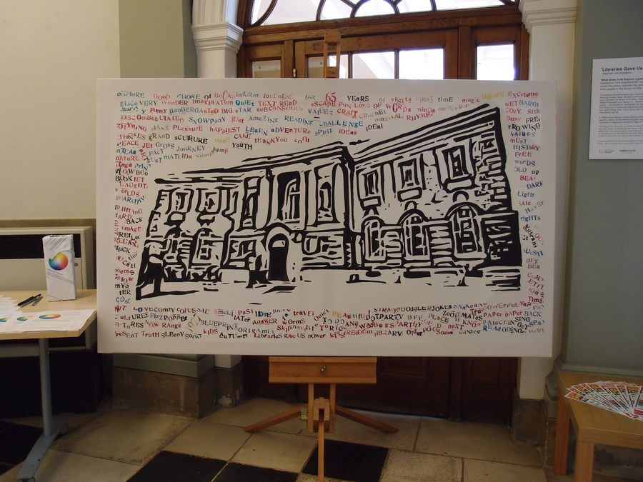 'Libraries gave us power', York Explore, 13 March 2018