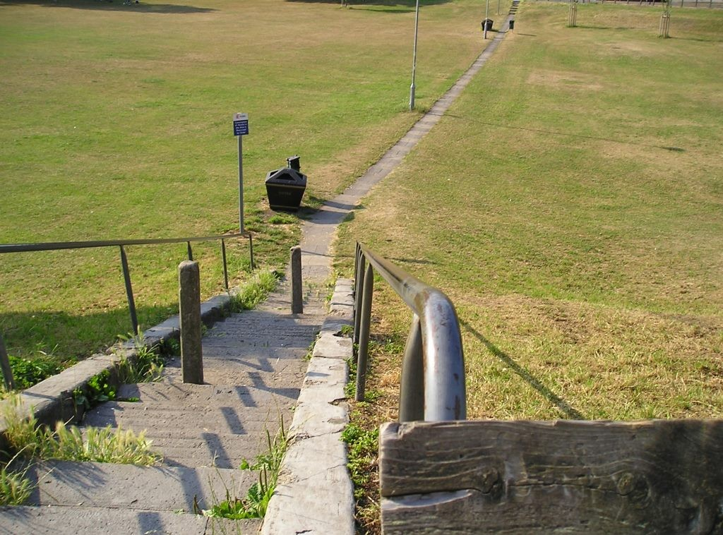 Acomb Green steps, 3 July 2006