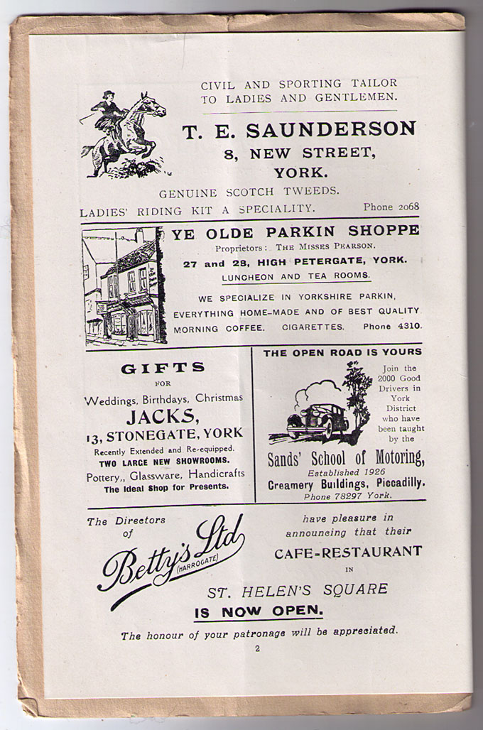 1930s ads