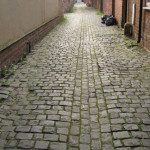 Paving, part 2: down the alleys