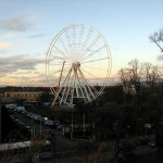 Big wheel, part 2 – view from the walls