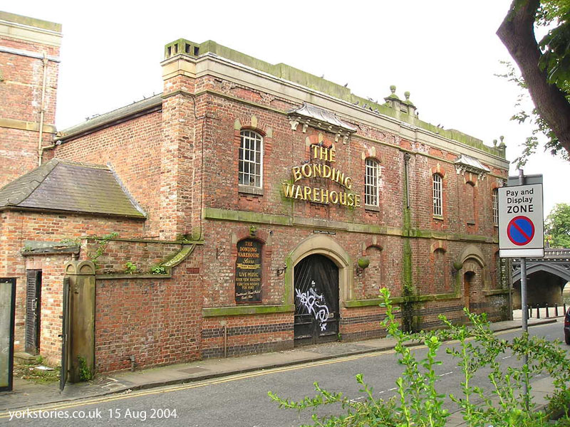 Victorian warehouse, disused