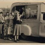 Capaldi's ices – Carlo's van, 1950s