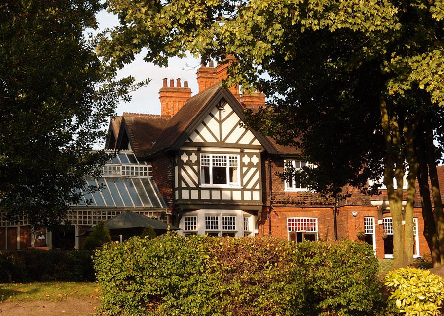 Victorian villa, front view