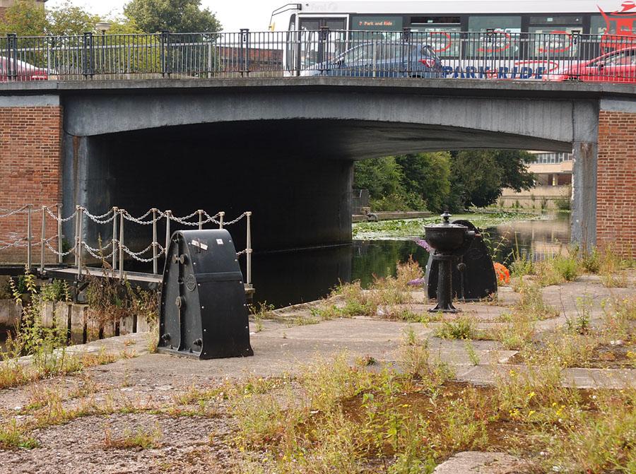 Castle Mills bridge, from Castle Mills lock
