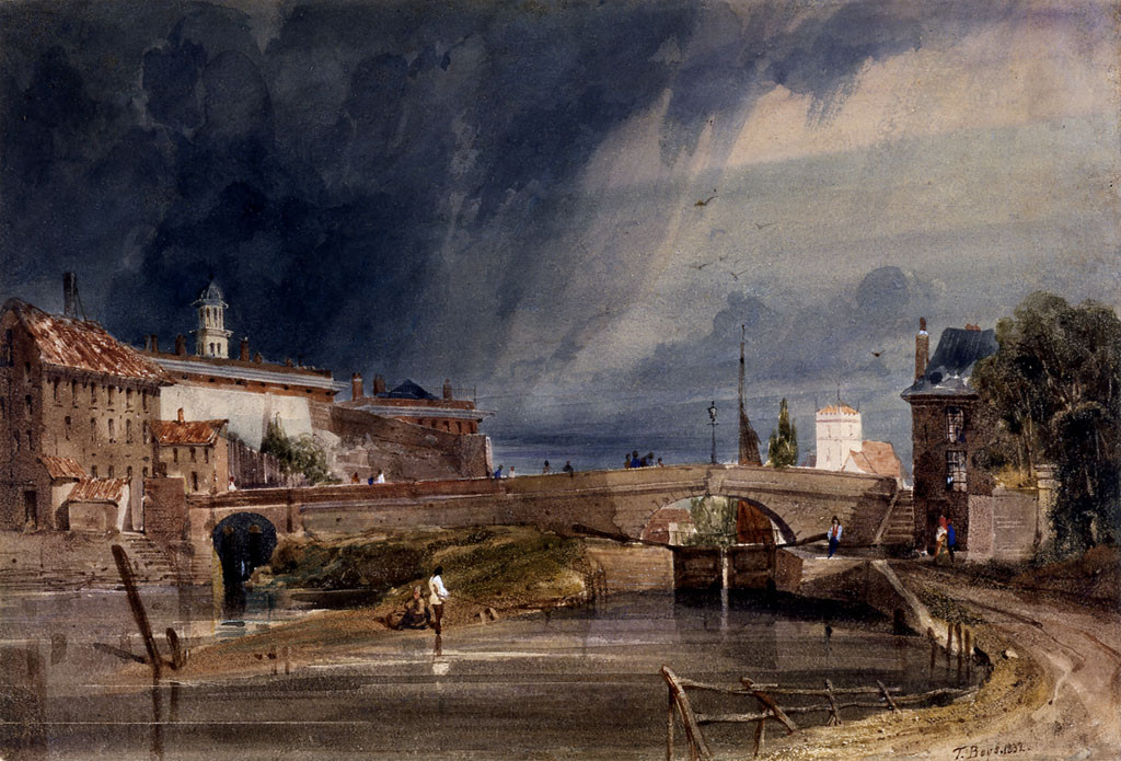 A view of Castle Mills bridge by Thomas Shotter Boys (Image courtesy of York Museums Trust. Public Domain)
