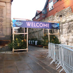 A rather muddy wander: Christmas attraction, Museum Gardens