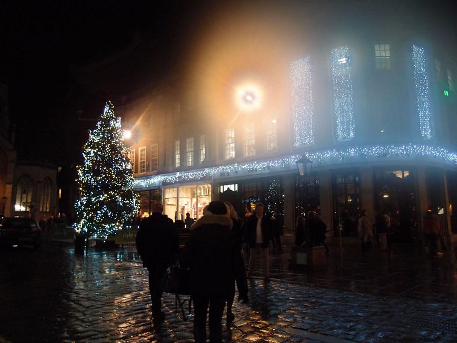 Christmas lights, St Helen's Square, 21 Dec 2017