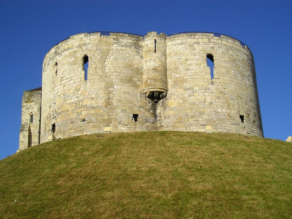 Clifford's Tower, summer morning, 2006