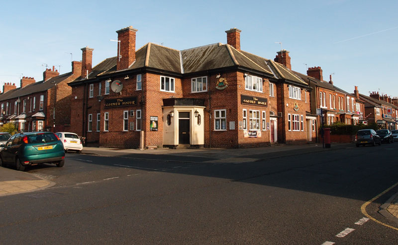 Corner House pub, Burton Stone Lane, 2 Oct 2014