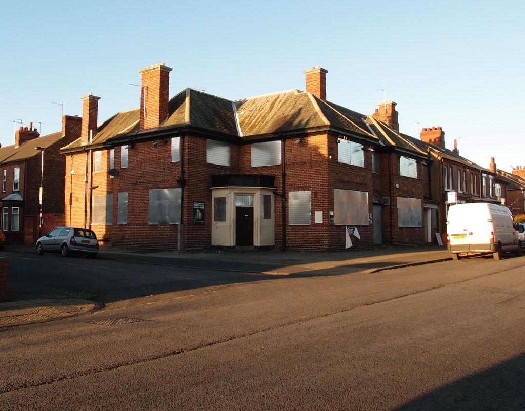 Corner House pub, Burton Stone Lane, 5 Dec 2014