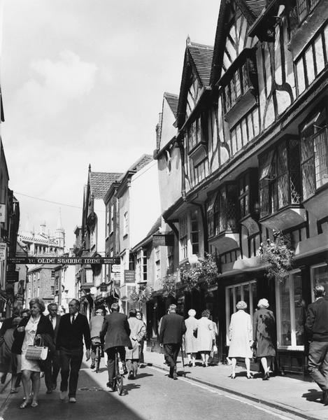 Stonegate, early 1970s? (Photo: Explore York Libraries and Archives)