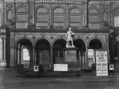 Etty statue in Exhibition Square, 1920s © City of York Council