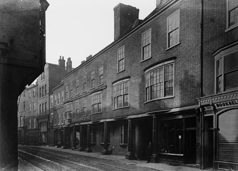 19th century street view