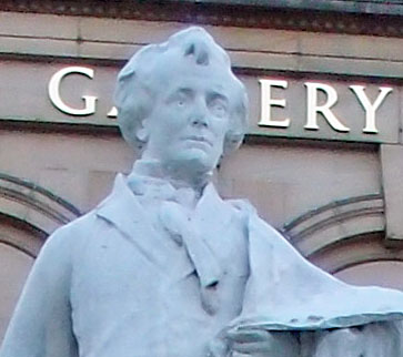 Etty statue, July 2015