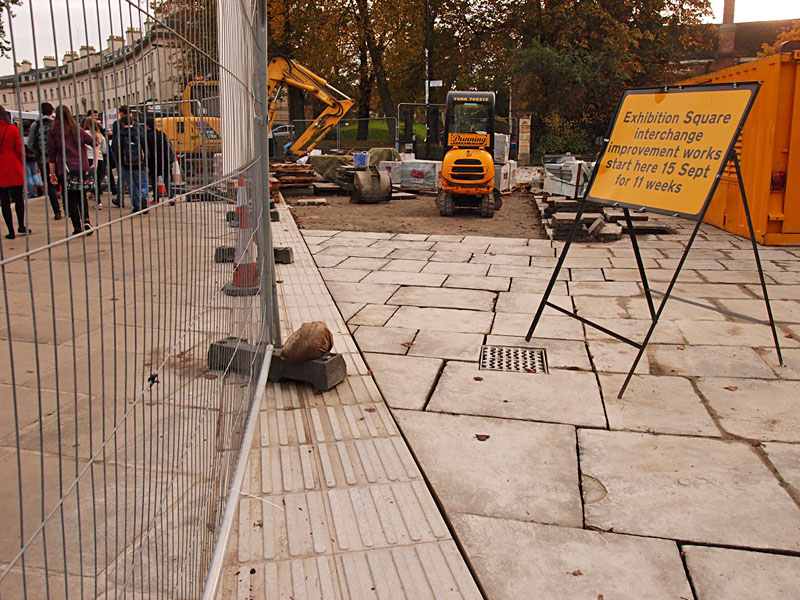 Exhibition Square, 30 Nov 2014