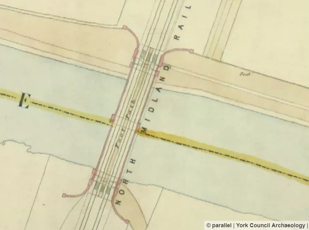 Extract from 1852 plan