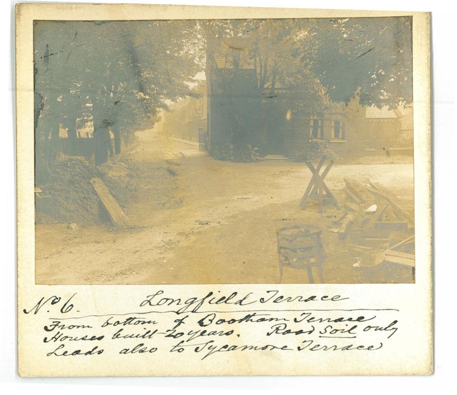 Old photo, street scene