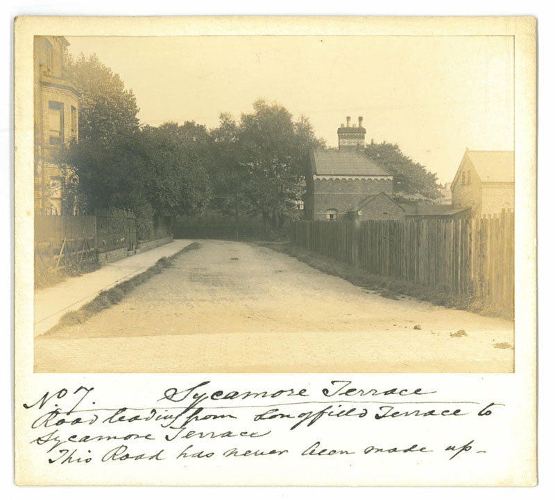 Old photo of street