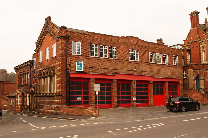 Former Trinity Chapel, and Fire Station