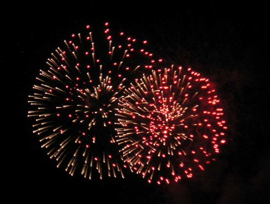 Fireworks, 5 Nov 2005, York