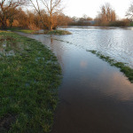Following the rising river, on Twitter