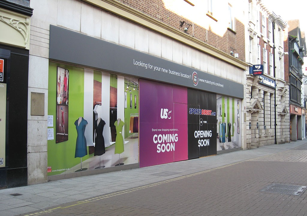 Former BHS store split into separate new stores, opening soon (19 August 2019)