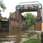 On the Foss barrier, failure, and floods