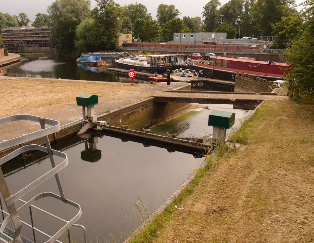 Foss Basin from Castle Mills Bridge, 19 July 2017