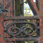 Walker foundry relic on 'Asylum Lane'