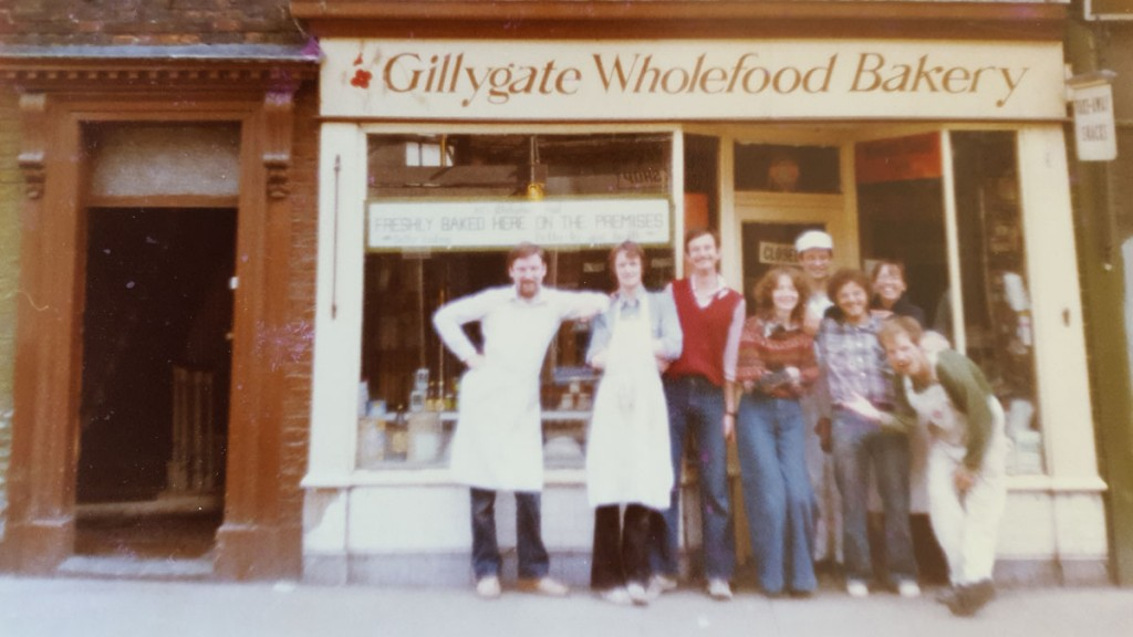 The original premises on Gillygate, 1977/78