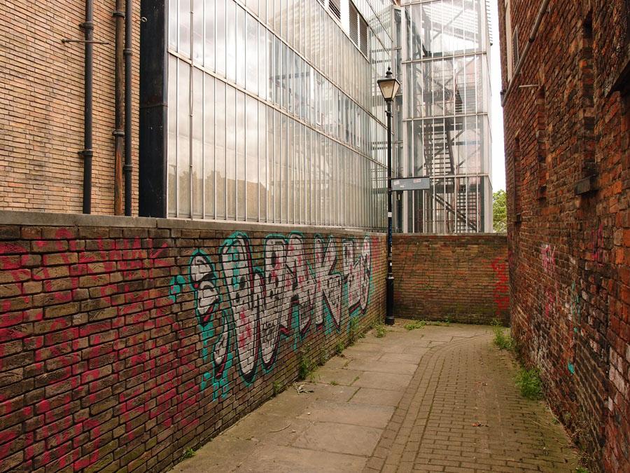 Graffiti, Black Horse Passage, 3 June 3015