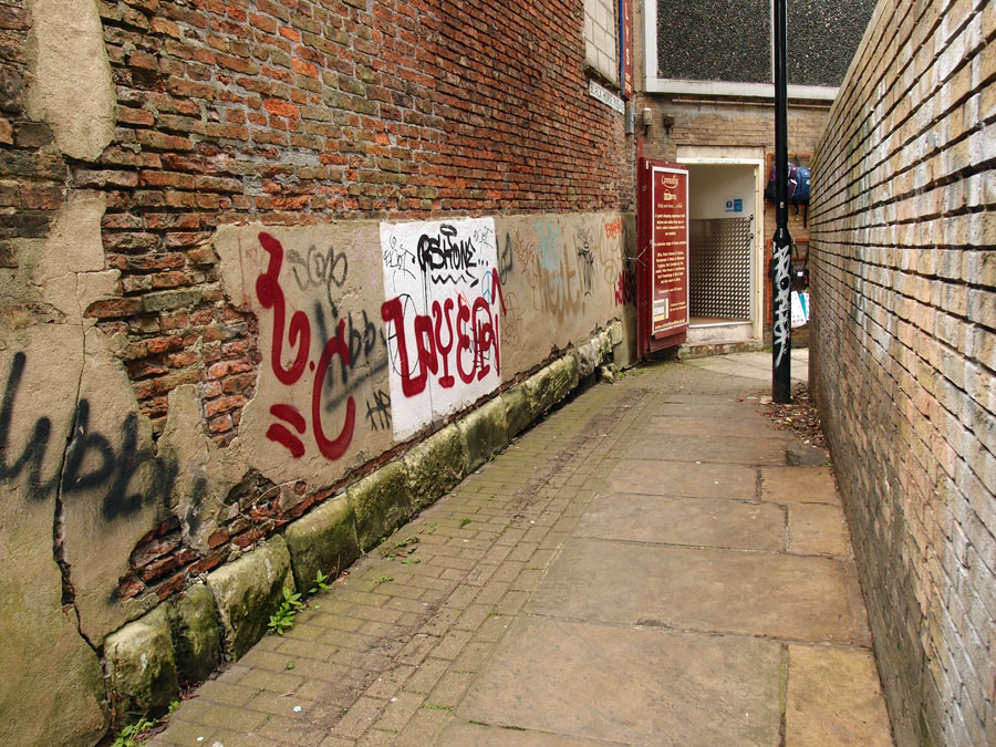 Graffiti, Black Horse Passage, 3 June 3015