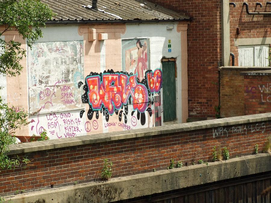 Graffiti, Foss-side, 3 June 2015