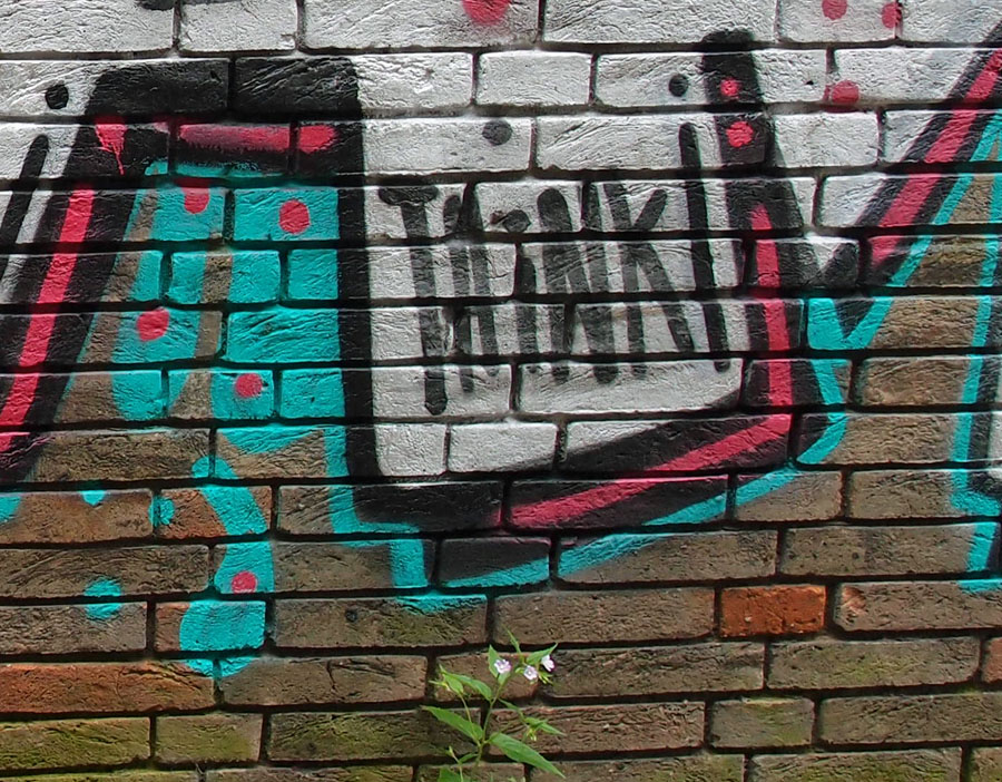 Graffiti - think ...? - 3 June 2015