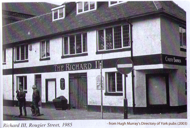 Pub called 'The Richard III'